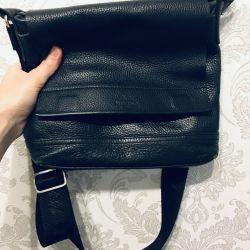 Ανδρική τσάντα από δέρμα