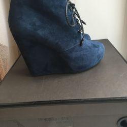 Αγκώνας μπότες σφήνες New + ψεκασμού