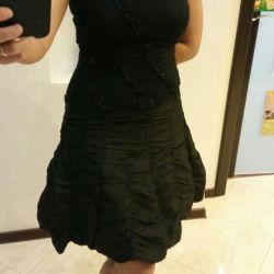 The dress . Size SM.