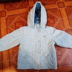 Demi-season jacket for warm autumn / spring