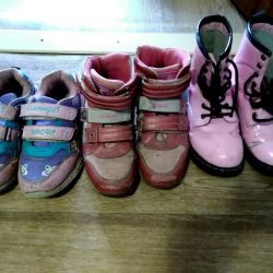 Shoes package for girls (p.34-35)
