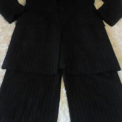 Suit (cardigan and pants) .NOVY.50-54razm.