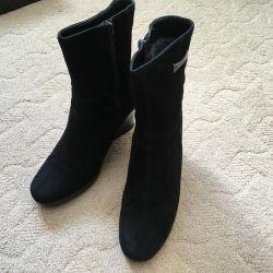 Yarım çizmeler kadın kış
