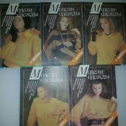 5 broșuri despre puloverele de tricotat