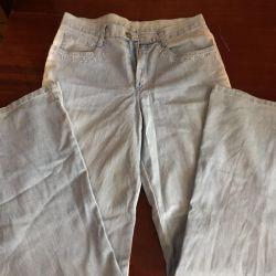 Jeans într-un profil de cliche, cm