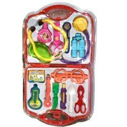 Σετ γιατρού σε μια βαλίτσα