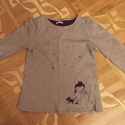 Tricou cu mâneci lungi DP ... Am, р. 10-136 cm