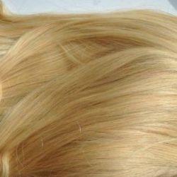 Natural hair on hairpins
