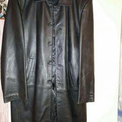 Men's leather coat 50-52 times