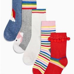 Socks 1-2 years 5 pairs