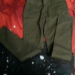 Новые джинсы-резинки 40-44размер