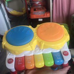 Piano / Drum Children's Toy