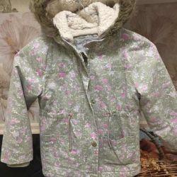 Wonderful children's jacket for girls