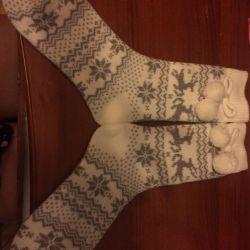 New socks, socks, OSTIN