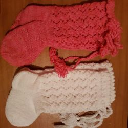 Baby knitted socks