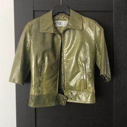 Leather Jacket. Marella sport