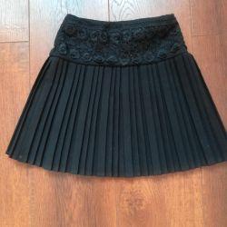 Black skirt for height 120-122 cm