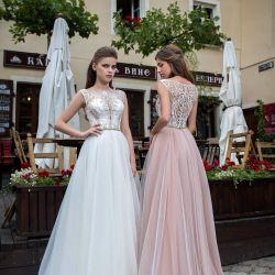Evening wedding dress. Rental