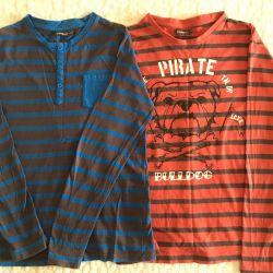 2 pcs. Shirts 140-146r. for boy.