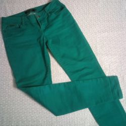 Kot pantolon ve pantolon kırmızı 44-46