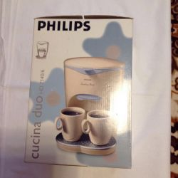 Philips coffee maker new in packaging.