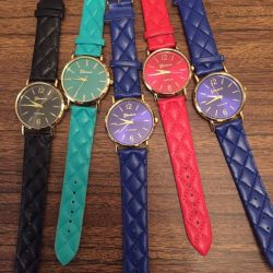 NEW Geneva watches (1 free)