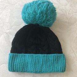 Winter angora hat