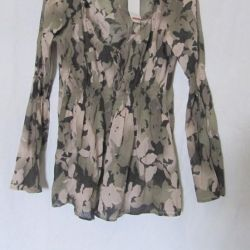 Blouse from the thinnest cotton