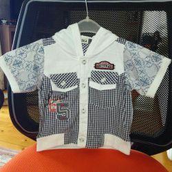 Παιδικό πουκάμισο για ένα αγόρι