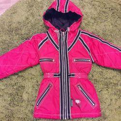 Пальто или удлинeнная курточка р.92-98