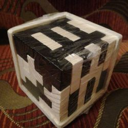 Puzzle. Tetris Cub.
