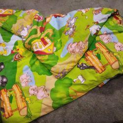 Κουβέρτα και μαξιλάρι