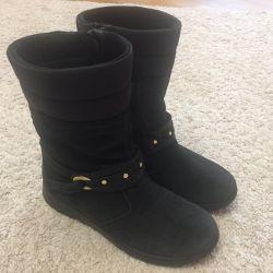 Παιδικές χειμωνιάτικες μπότες Ecco, 33ρ