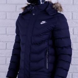 Пуховик Nike Dark blue