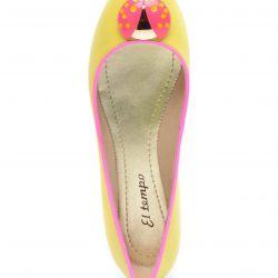 Leather ballet shoes El Tempo 38
