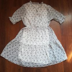 Chiffon dress, new