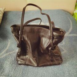 Τσάντα νέο δέρμα.