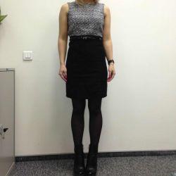 Dress Incity, tweed. 42