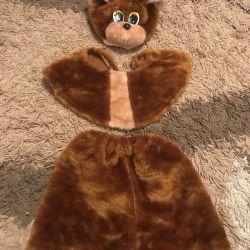 New Year costume bear