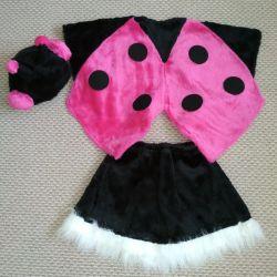 Christmas costume ladybug