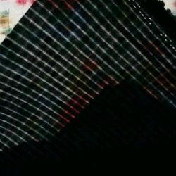 Ткань хлопок черный рукоделие