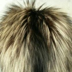 Fur hat (silver fox + mink)