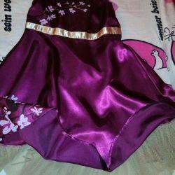 Elbise Sonraki Takım İpek Sakura Twig 128-135