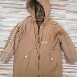 Kiko jacket + pack of things on the boy