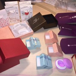 Packaging box for bracelets, silver and charms