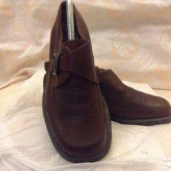 мужские кожаные туфли эконика