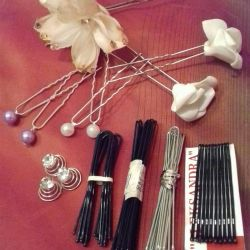 Krabiki, hairpins, invisible