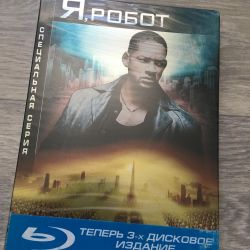 Я робот (2dvd+blu ray)
