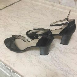 Lacquered sandals brand Bruno Premi