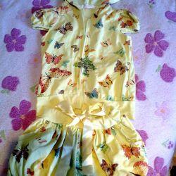 114 şortlu yazlık elbise
